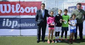 Luna di Noto y Rafael Segado, campeones del Circuito IBP Uniuso U10