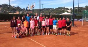 La imagen del día: Clinic de Tennis Mind en el Tennis Tarragona