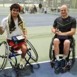 Aciturri presenta en Ciudad de la Raqueta el patrocinio de la selección española de tenis en silla de ruedas para los Juegos de Río