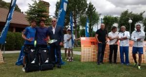 Diego Barreto y Silvia Vargas representarán a España en el campeonato de Europa tras ganar la Babolat Cup