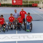 La imagen del día: Aciturri presenta el patrocinio de la Selección Nacional Mapfre de Tenis en Silla de Ruedas para Río de Janeiro