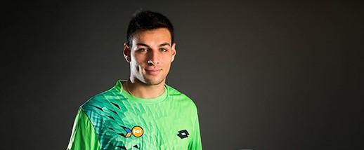 La imagen del finde: Bernabé Zapata , campeón del Future del Club de Campo de Vigo