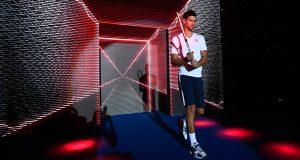 Djokovic presenta en Milán al estilo 'SuperBowl' la nueva gama Speed de Head