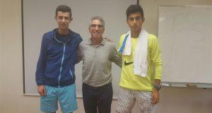 La imagen del sábado: Nicolás Alvarez y Alejandro García en la 'concentración de talento' de la RFET