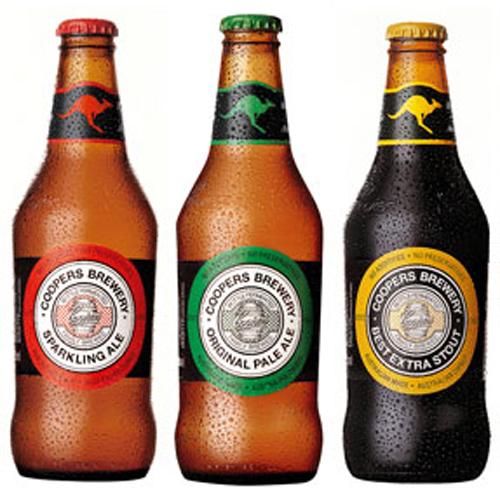 Coopers, cerveza oficial del Australian Open