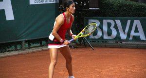 La imagen del día: Silvia Soler, en liza en el BBVA Open Ciudad de Valencia
