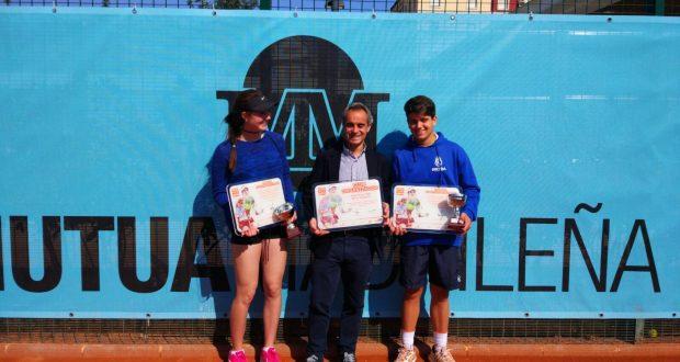 Carles Anton y Laia Conde, campeones del Mutua Madrid Open U16 en Sporting Club
