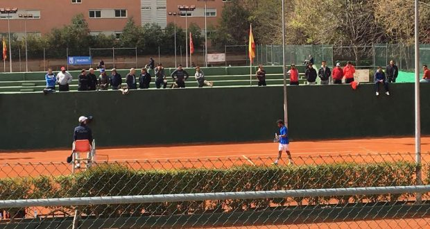 La imagen del miércoles: Comenzó el cuadro final en el Villa de Madrid del Club Alameda