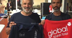 Alianza de valores entre Global Tennis y Nuevo Tenis Cuenca, proyectos de Jofré Porta y Freddy Santos