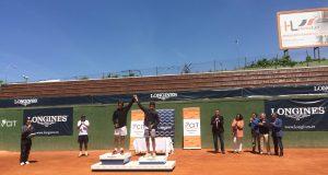 Daniel Mérida gana el Longines y representará a España en el 'Roland Garros U13'