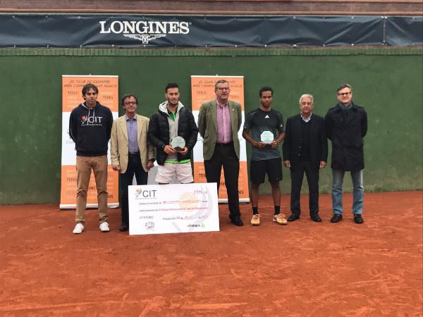 Javier Martí conquista su segundo título del año al ganar el Future 15.000 del Club Internacional