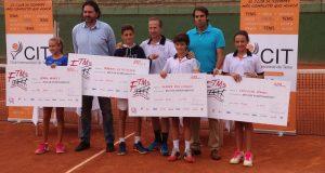 Campeones alevines e infantil de Madrid y Andalucía
