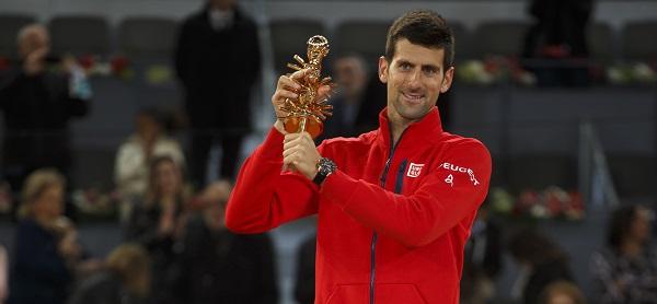 """Entrevista Novak Djokovic: """"Manolo Santana es un caballero y le tengo un gran respeto por lo que ha hecho por el tenis """""""