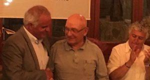 La imagen del día: Francisco Guillén, de 91 años,  el abuelo del tenis español