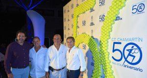 El CT Chamartín celebra sus Bodas de Oro en un emotivo acto con más de 500 asistentes
