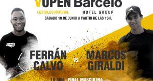 Ferran Calvo, Marcos Giraldi, Marta Pérez y Mila Saric, finalistas del Open Barceló