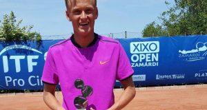 La imagen del sábado: Nicola Kuhn, subcampeón de Roland Garros Junior
