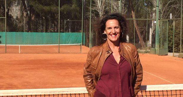 Carmen garreta presidenta del club de tenis la moraleja for Club social la moraleja